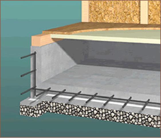 基礎部分の断熱構造
